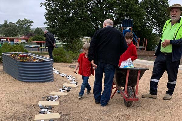Linton Primary School - Garden