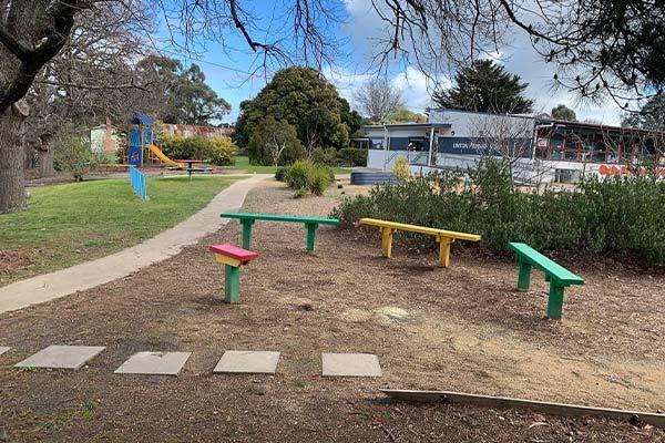 Linton Primary School - Outdoor seats