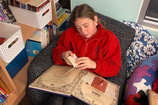 Linton Primary School - Student Reading