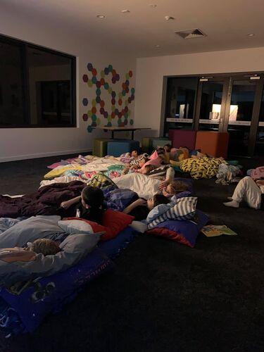 Sleep Over Fun